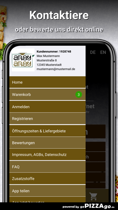 Aroy Aroy Karlsruhe screenshot 3