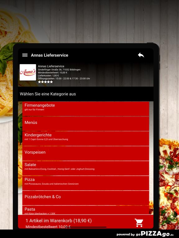 Annas Lieferservice Böblingen screenshot 8