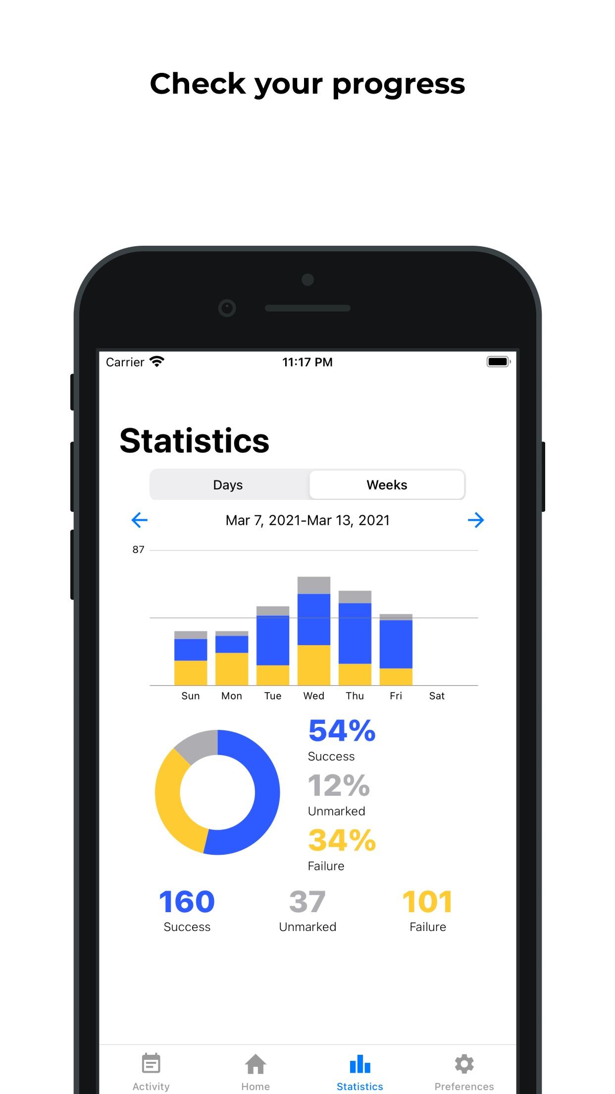 Screenshot do app Actuflow