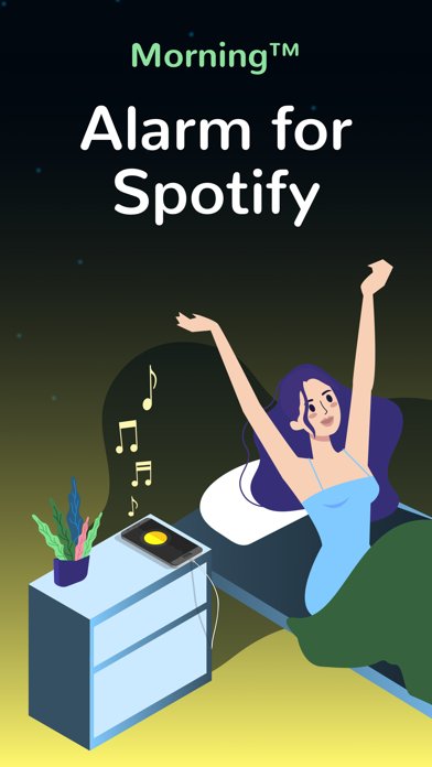Morning™ Spotifyの目覚まし時計: 時計のおすすめ画像1