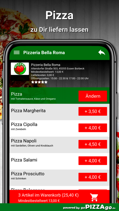 Bella Roma Essen Borbeck screenshot 5