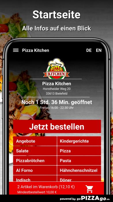 Pizza Kitchen Bielefeld screenshot 2