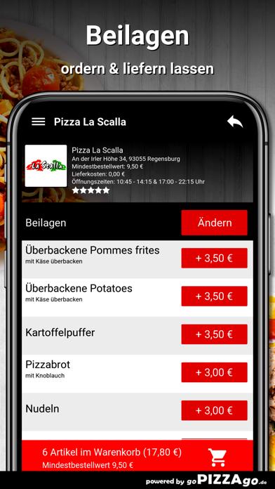 Pizza La Scalla Regensburg screenshot 6