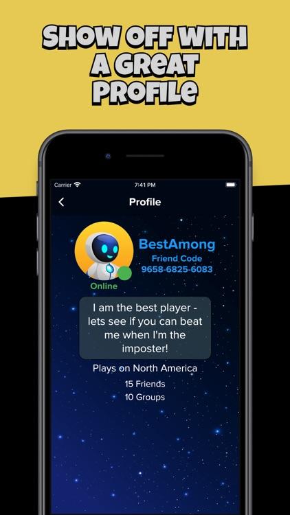 AmongFriends - Chat Among Crew screenshot-4