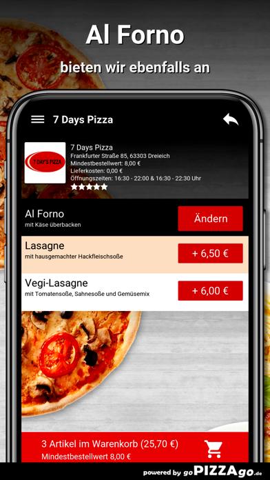 7 Days Pizza Dreieich screenshot 6