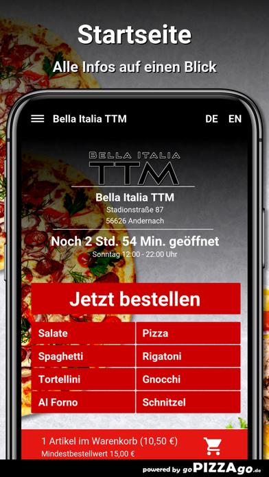 Bella Italia TTM Andernach screenshot 2