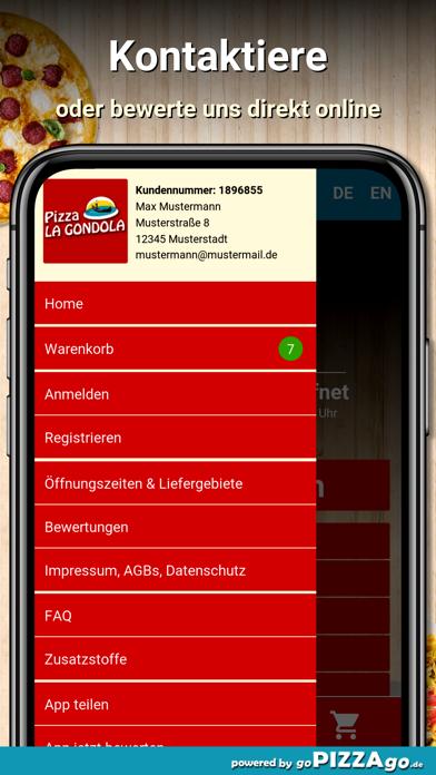 Pizza La Gondola München screenshot 3
