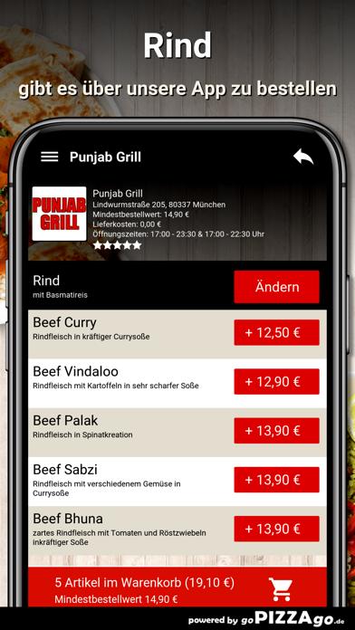Punjab Grill München screenshot 6