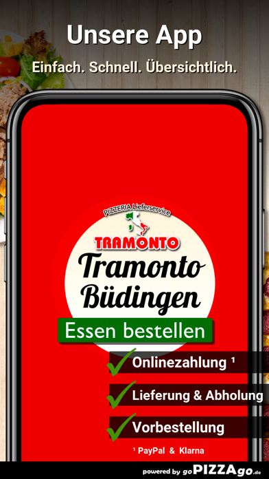 Pizzeria Tramonto Büdingen screenshot 1