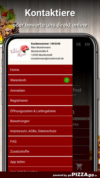 Pizzeria Villa Rosa Berlin screenshot 1