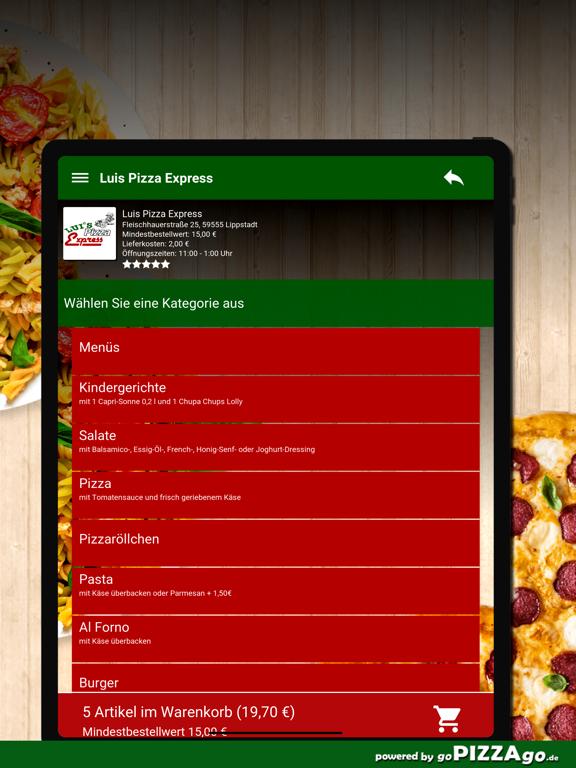 Luis Pizza Express Lippstadt screenshot 8