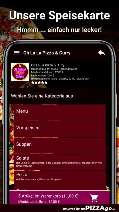 Oh La La Pizza Recklinghausen screenshot 4