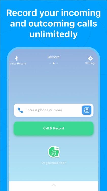 Call Recorder - Save & Listen screenshot-0