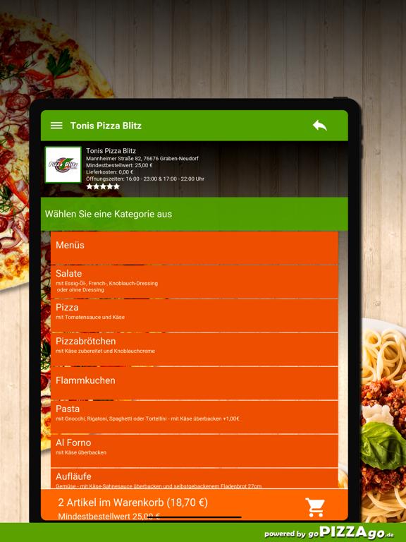 Pizza Blitz Graben-Neudorf screenshot 8