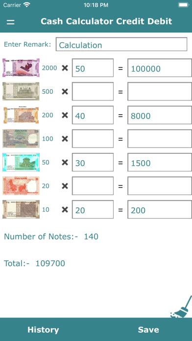 Cash Calculator Credit Debit紹介画像3
