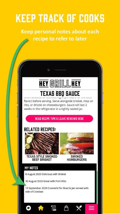 Hey Grill Hey Best BBQ Recipes screenshot-5