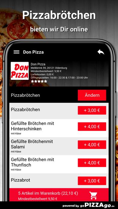 Don Pizza Oldenburg screenshot 5