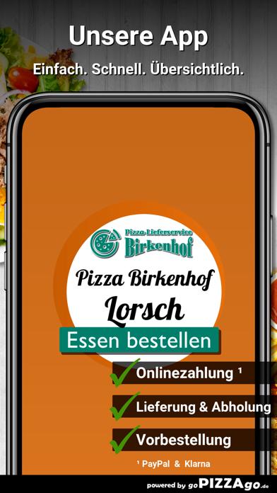 Pizzahaus-Birkenhof Lorsch screenshot 1