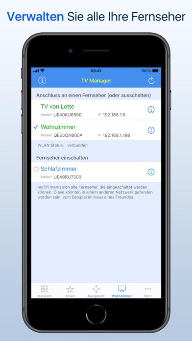 myTifi remote für Samsung TVScreenshot von 5
