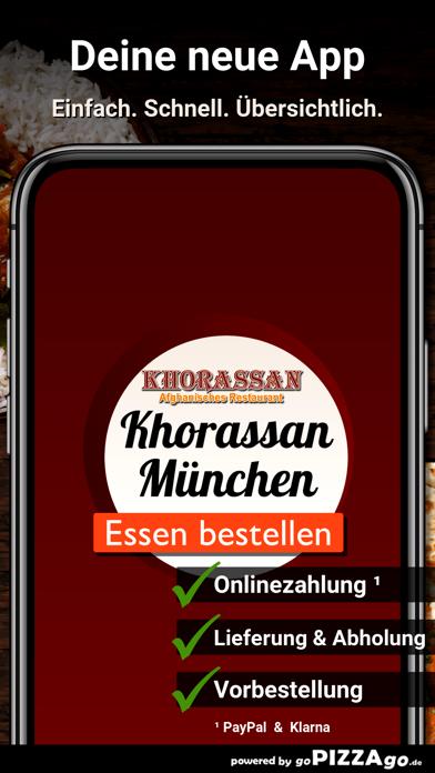 Khorassan München screenshot 1