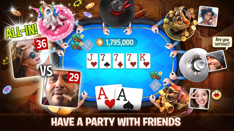 Governor of Poker 3 - Friends screenshot-3