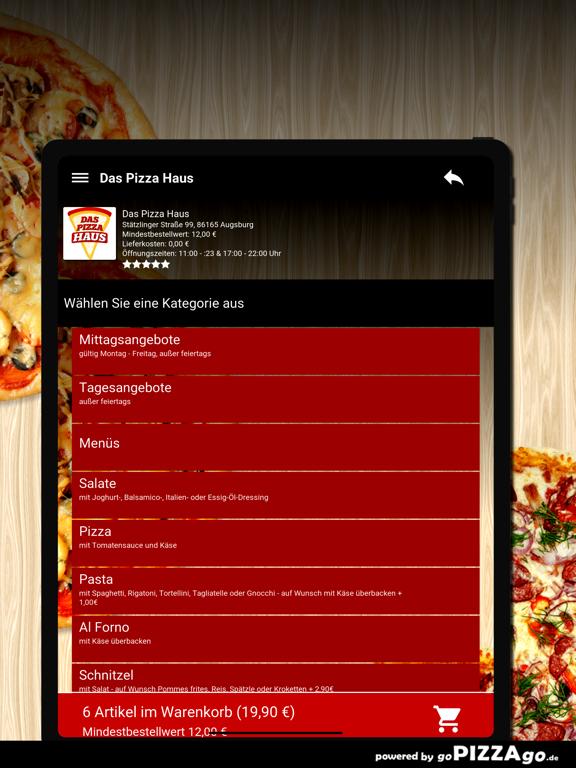 Das Pizza Haus Augsburg screenshot 8