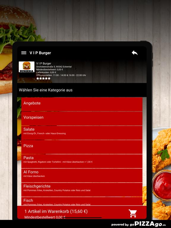 V I P Burger Eckental screenshot 7