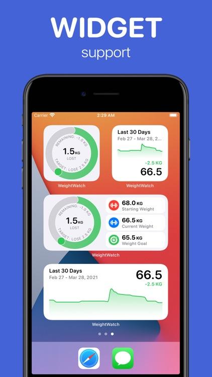 WeightWatch: Weight Tracker screenshot-7