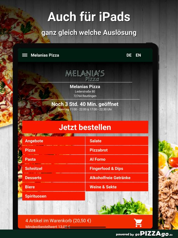 Melanias Pizza Reutlingen screenshot 7