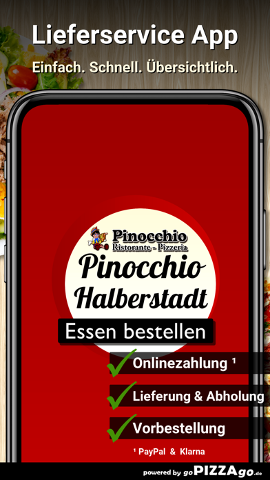 Pizzeria Pinocchio Halberstadt screenshot 1