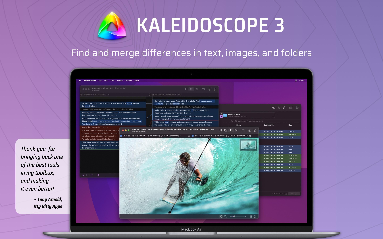 Screenshot do app Kaleidoscope 3