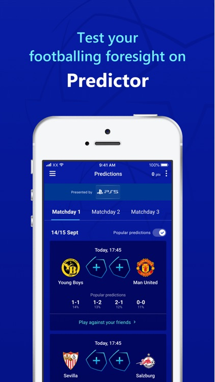 UEFA Gaming: Fantasy Football screenshot-3