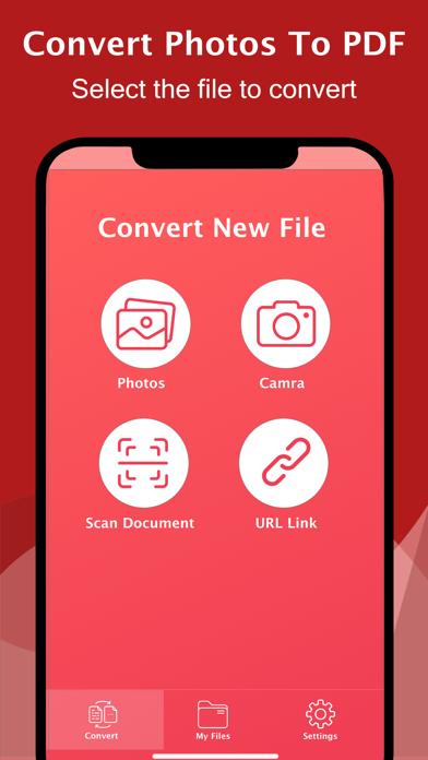 The PDF Photos - JPG to PDF屏幕截图1