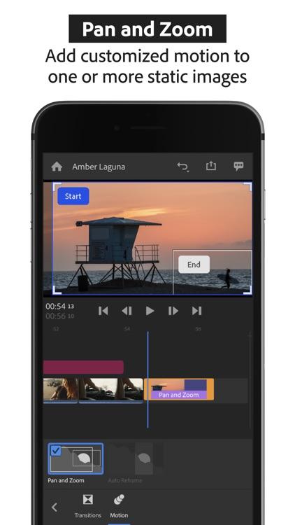 Adobe Premiere Rush:Edit Video screenshot-9