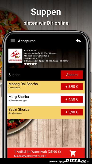 Annapurna Füssen screenshot 5
