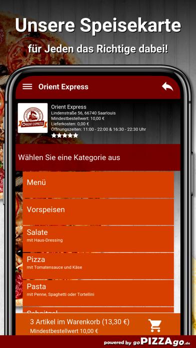 Orient Express Saarlouis screenshot 1