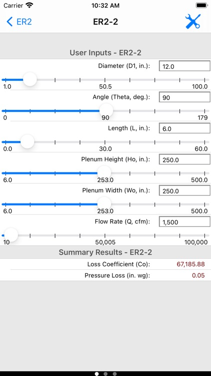 ASHRAE Duct Fitting Database screenshot-6