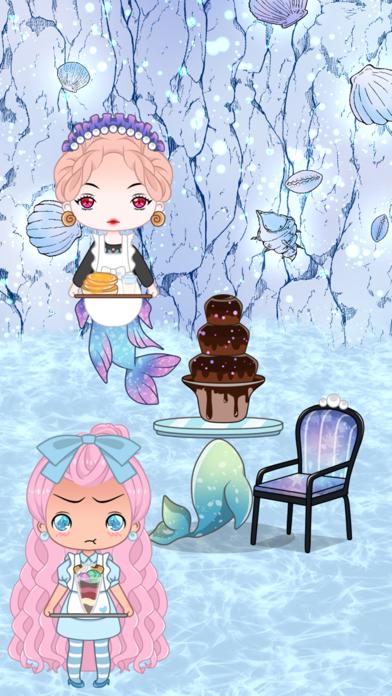 Cafegal - Dress up mini cafe screenshot 3