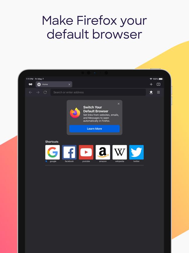 Firefox: Private, Safe Browser Screenshot