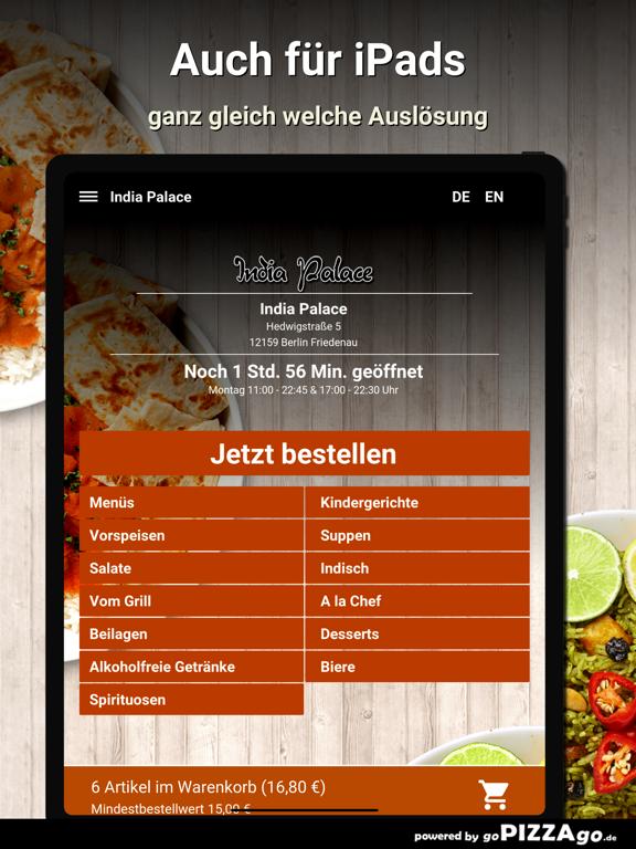 India Palace Berlin Friedenau screenshot 7