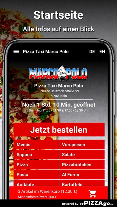 Pizza Taxi Marco Polo Köln screenshot 2