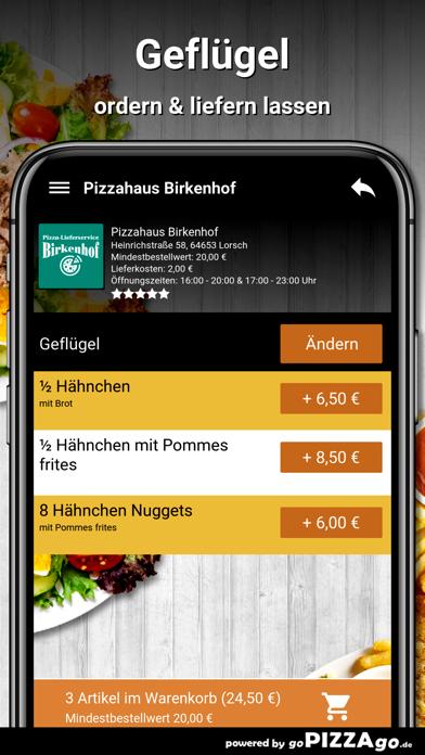 Pizzahaus-Birkenhof Lorsch screenshot 6