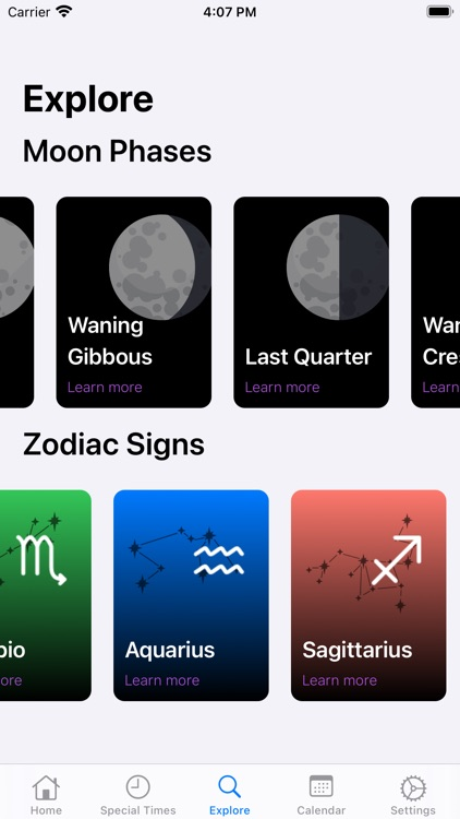 AstroMoon: Moon Calendar screenshot-4