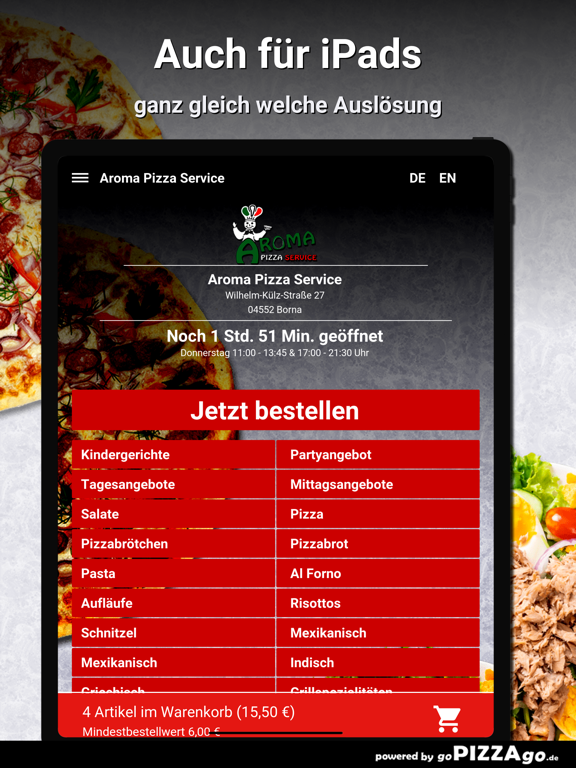 Aroma Pizza Service Borna screenshot 7