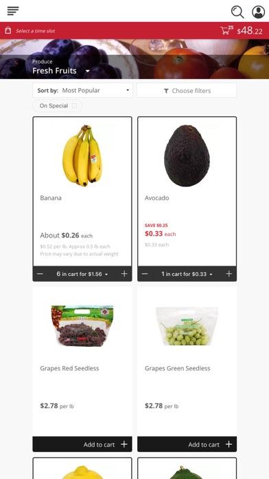 Grocery Advantage screenshot 2