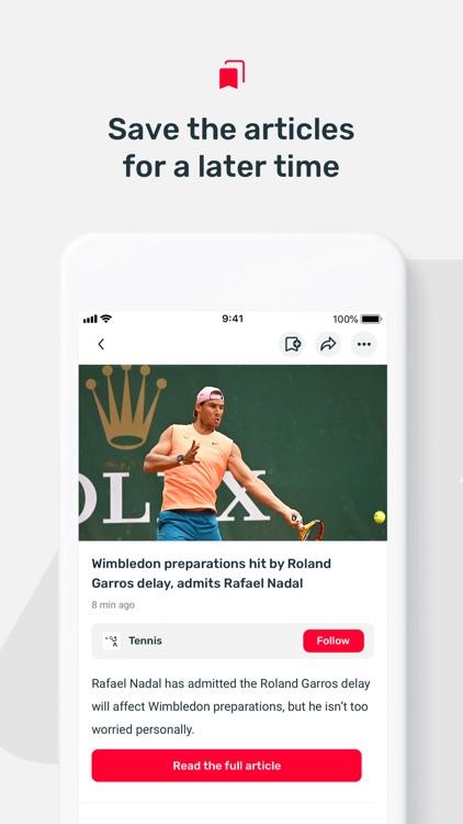 FlashSport - sports news screenshot-4