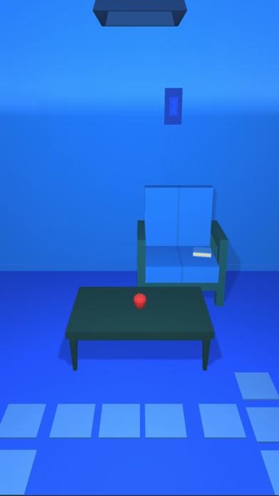 脱出ゲーム 青すぎる部屋からの脱出紹介画像1