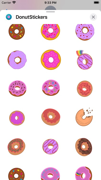 Donuts Stickers screenshot-3