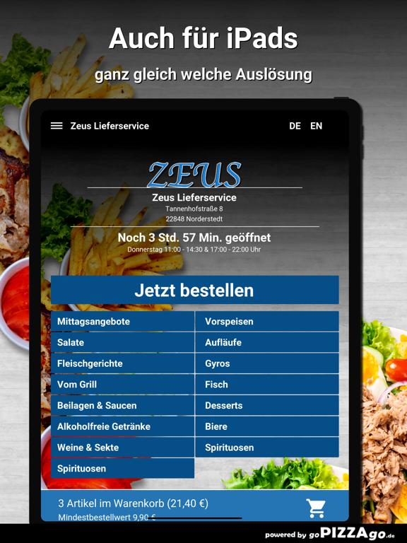 Zeus Lieferservice Norderstedt screenshot 7