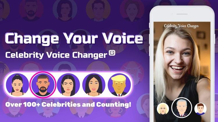 Celebrity Voice Changer Parody screenshot-9